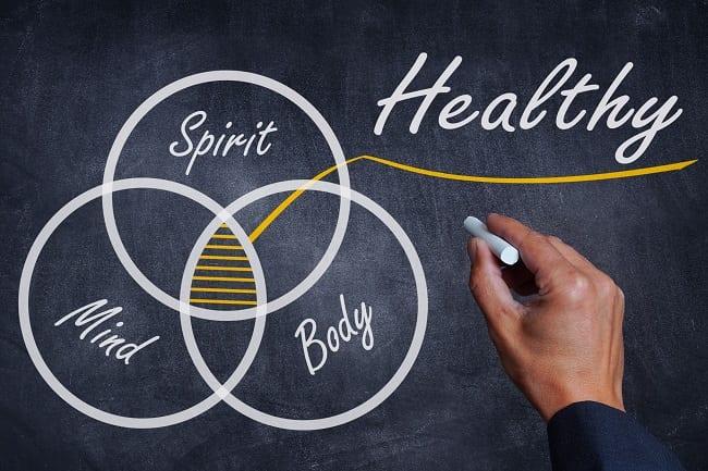 spirit mind body healthy