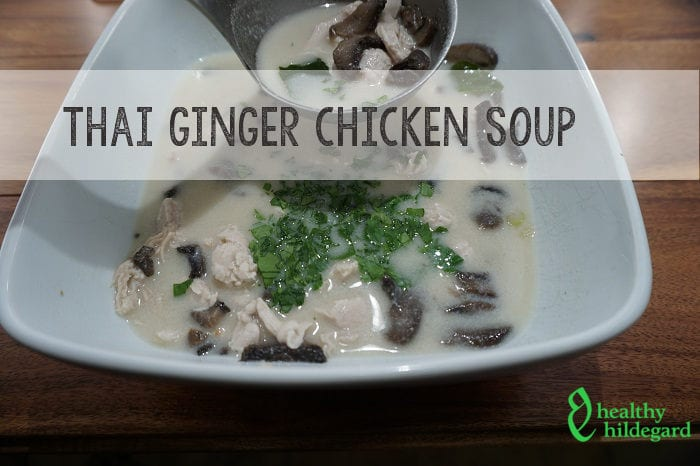 Thai Ginger Chicken Soup