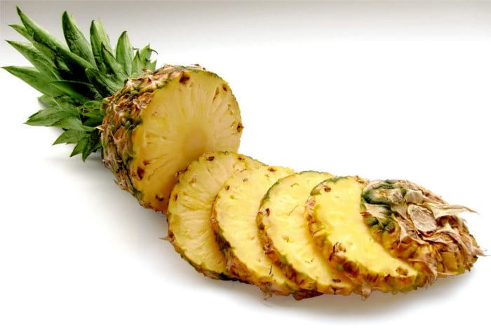 Cut pineapple - Healthy Hildegard