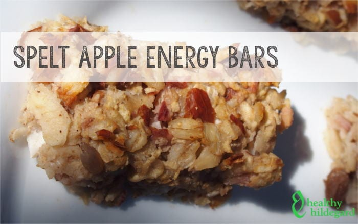 Hildegard of Bingen Apple Energy Bars