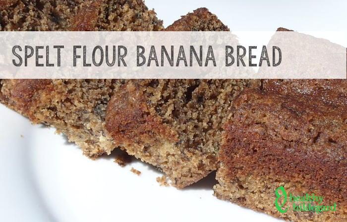 Spelt Flour Banana Bread