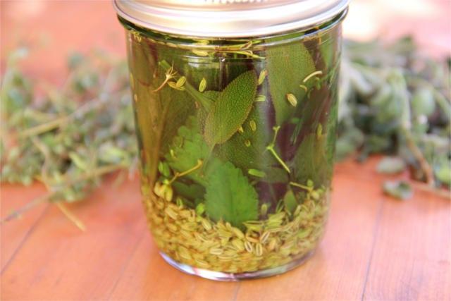preserve fresh herbs 10