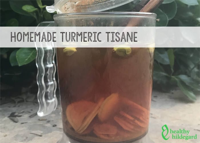 Homemade Turmeric Drink