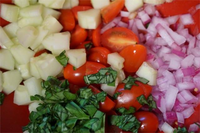 Spelt Summer Salad