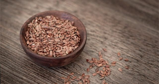 naturopathic remedies against burns with flax seed