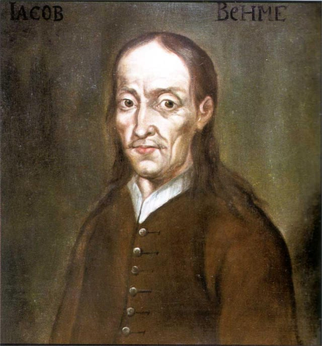doctrine of signatures Jakob Boehme