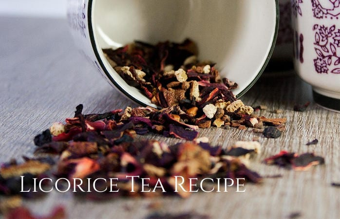 Licorice tea recipe