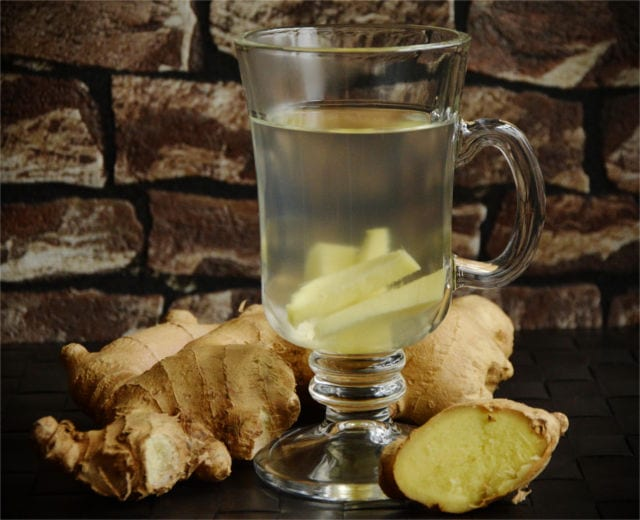 ginger tea cold remedy