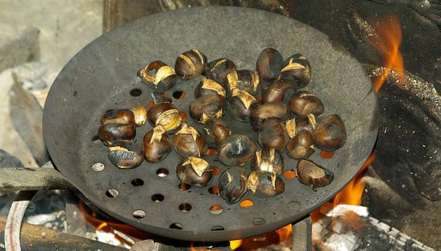How to cook roasted chestnuts