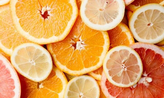 Graprefruits, oranges, and lemons