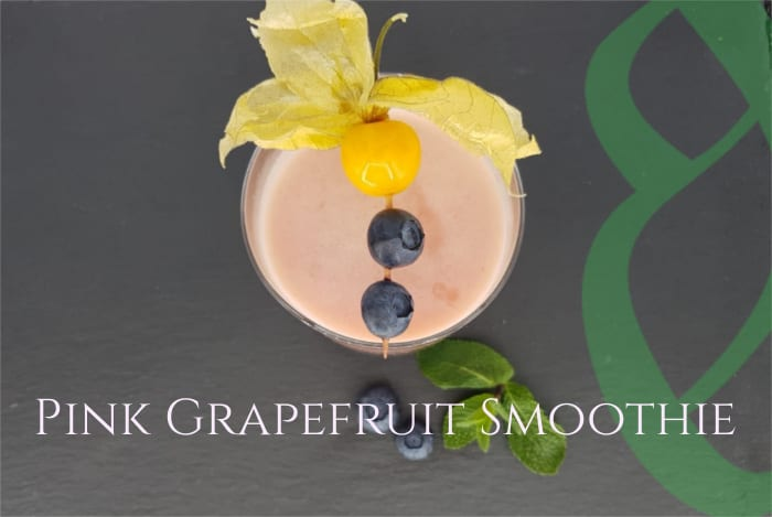 Pink Grapefruit Smoothie