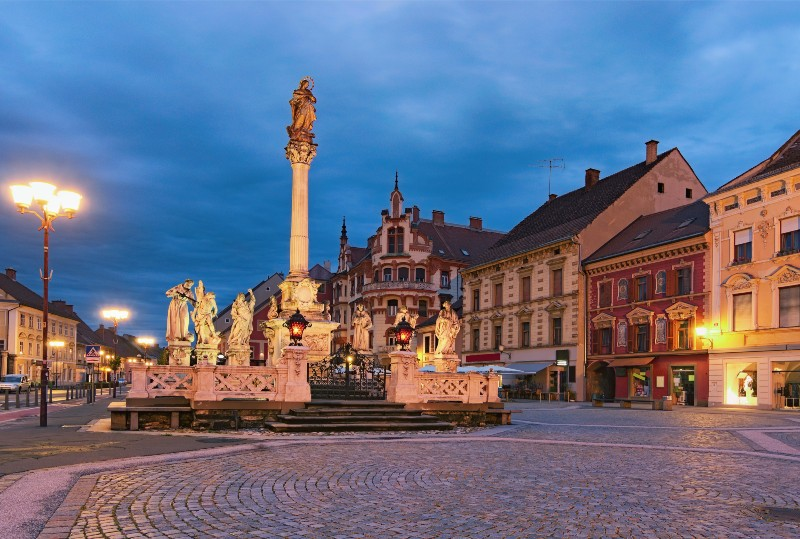 medieval town square prevention and isolation